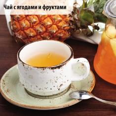 Черный чай с маракуйей и ананасом